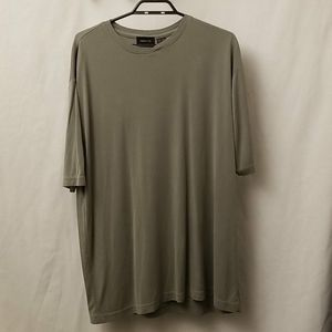 Claiborne Mens Size XL Shirt Tan Pull Over